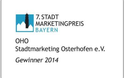 Stadtmarketingpreis Bayern 2014
