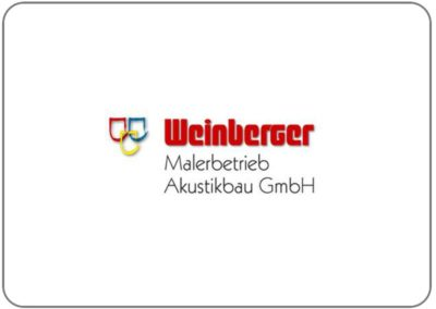 Weinberger Malerbetrieb – Akustikbau GmbH