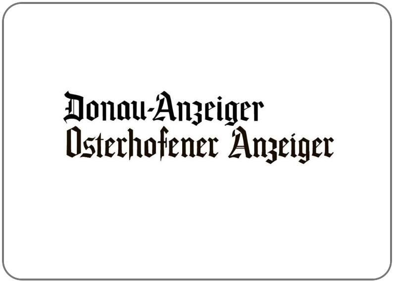 Osterhofener-Anzeiger / Donau-Anzeiger