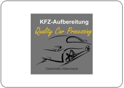 KFZ-Aufbereitung – Quality Car Processing