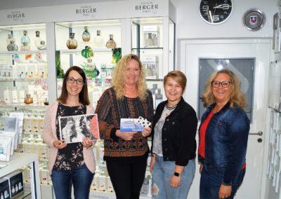 Gewinnerin der Auslosung OHO-Lieblingsbetrieb vom April 2019: Margit Zacher