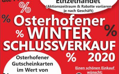 Osterhofener Winterschlussverkauf