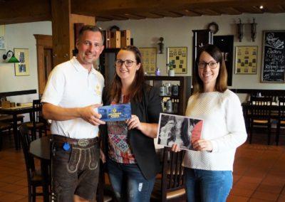Gewinnerin der Auslosung OHO-Lieblingsbetrieb vom August 2019: Anja Pocwiardowski