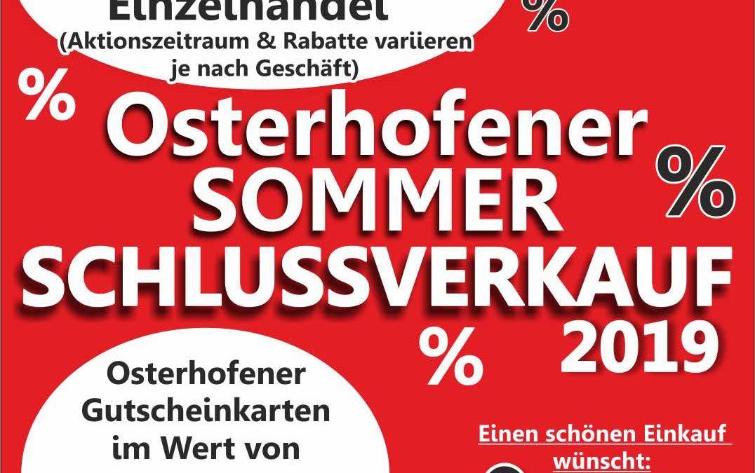 Osterhofener Sommerschlussverkauf