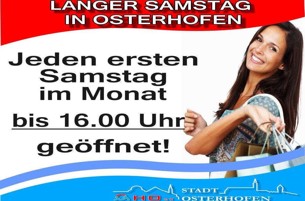 Langer Einkaufssamstag & Advent in Osterhofen
