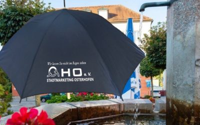 OHO-Regenschirm ausleihen