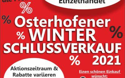 Osterhofener Winterschlussverkauf 2021